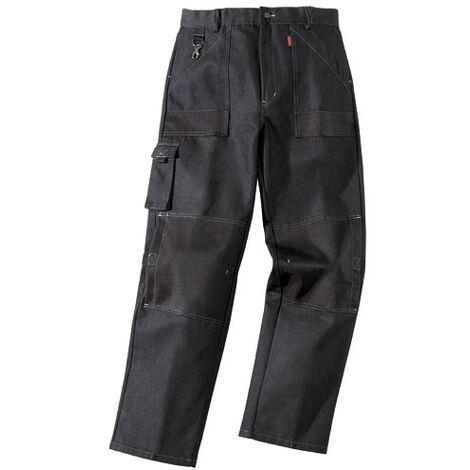 """main image of """"Pantalon de travail très résistant - Lafont - Multipoches - Homme Bleu 44 - Bleu"""""""
