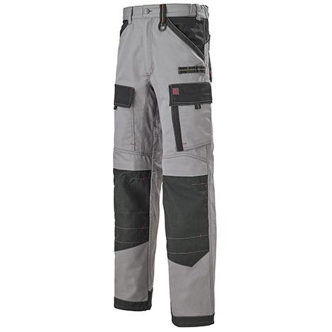 Pantalon de travail Work Attitude 250 - Lafont - Gris contrasté noir - Taille 2