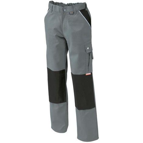 Pantalon de travail,Canvas,320 g/qm, Taille 52,gris