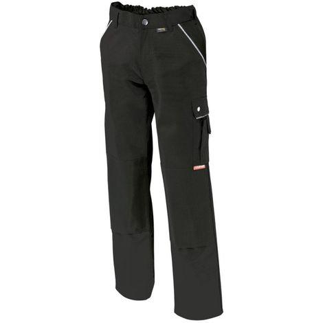 Pantalon de travail,Canvas,320 g/qm, Taille 52,noir