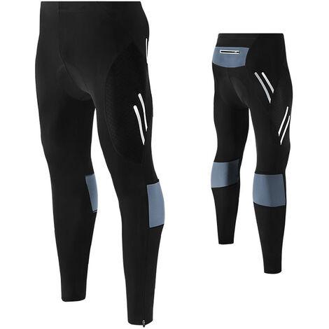 Pantalon D'Equitation 4D Hommes, 5Xl Gris