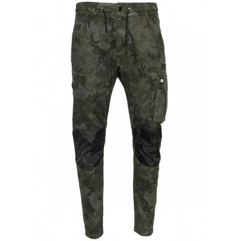 Pantalon dynamic camo gris/noir CAT - plusieurs modèles disponibles