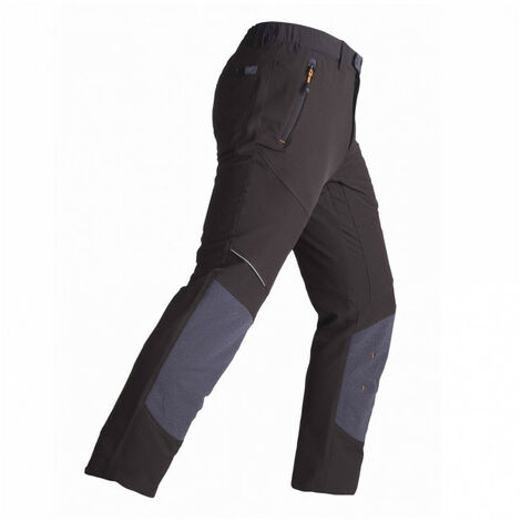 Pantalon élasticisé EXPERT noir-gris KAPRIOL - plusieurs modèles disponibles