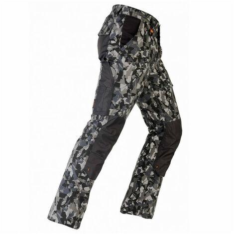 Pantalon élastique TÉNÉRÉ PRO camouflage gris KAPRIOL - plusieurs modèles disponibles
