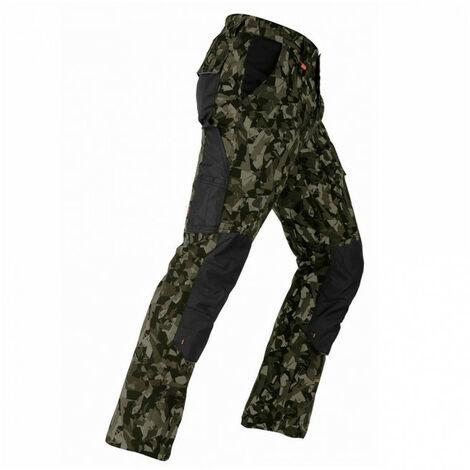 Pantalon élastique Tenere Pro camouflage vert KAPRIOL - plusieurs modèles disponibles