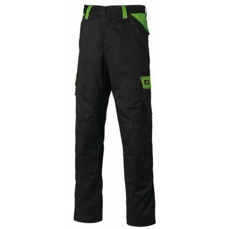 "main image of ""Pantalon Everyday Noir / Vert - Taille 48 - Dickies"""