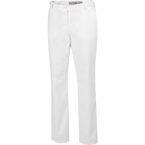 Pantalon femme 1644 686 Taille 44 blanc
