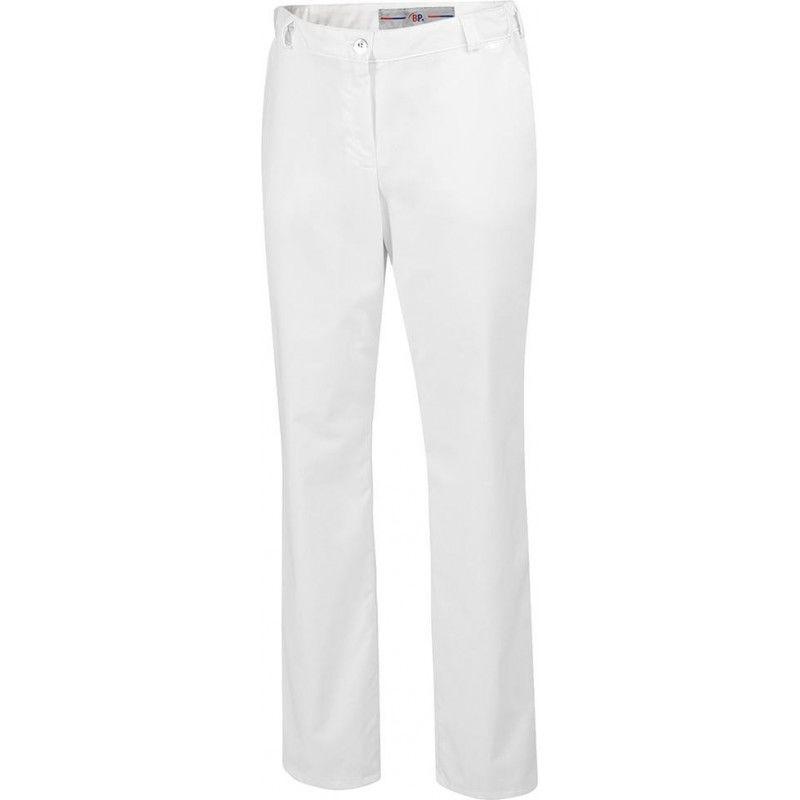 FP - Pantalon femme 1644 686 Taille 46 blanc