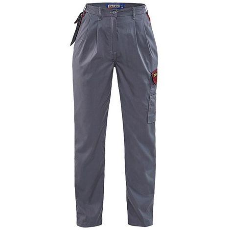 Pantalon femme - 9457 Gris/bordeaux - Blaklader