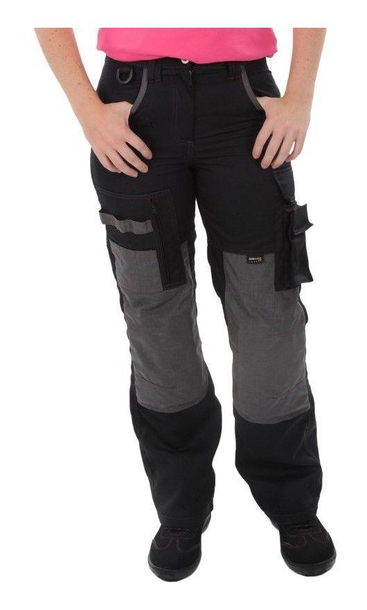 Pantalon Femme Noir/Gris du 36 au 52 36 - Kiplay