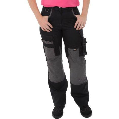 Pantalon Femme Noir/Gris du 36 au 52 - Kiplay