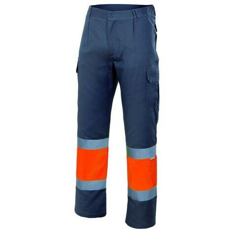 Pantalón forrado bicolor alta visibilidad