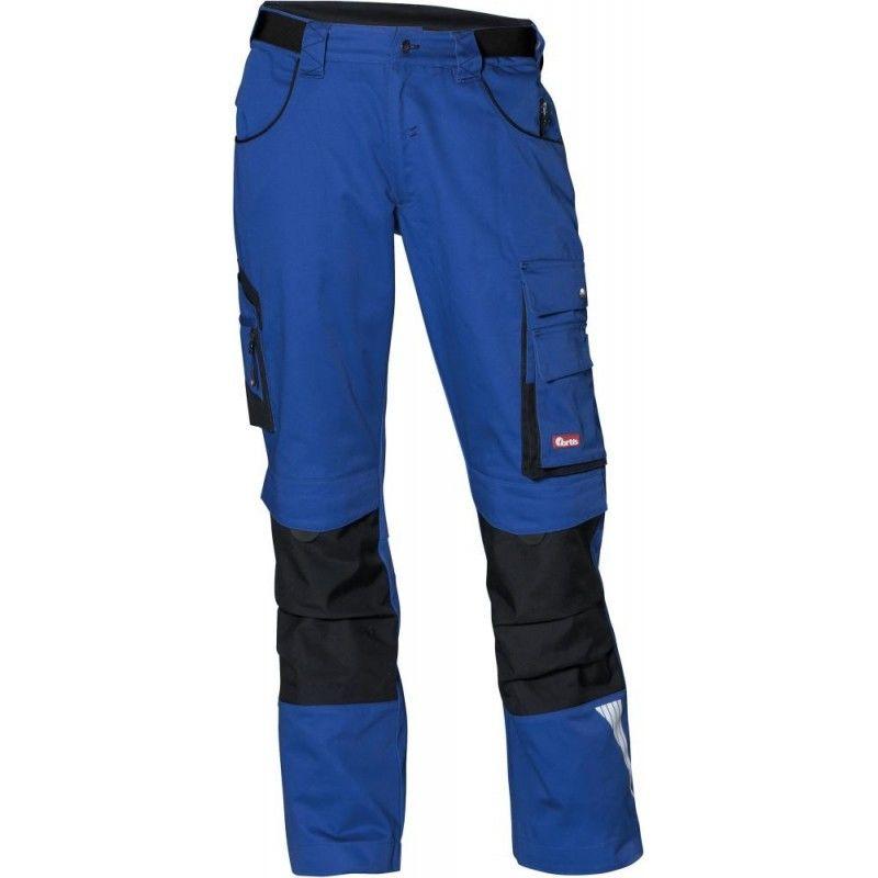 Pantalon FORTIS 24, bleu/noir Taille 34
