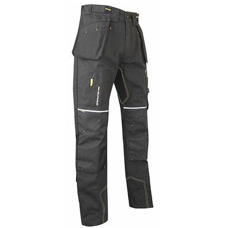 Pantalon gris carbone avec poches genouilleres en Cordura Etabli LMA - plusieurs modèles disponibles