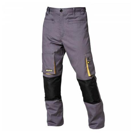 Pantalon Gris / Jaune Long Taille 58/60 XXXL