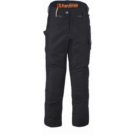 Pantalon Harpoon Alti Moleskine BOSSEUR - noir - taille 40 - 11280-003