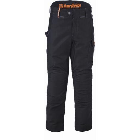 Pantalon Harpoon Alti Moleskine BOSSEUR - noir - taille 46 - 11280-006