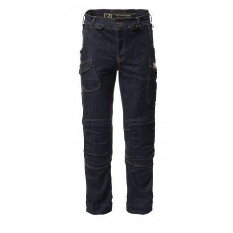 Pantalon Harpoon Multi Indigo Confort BOSSEUR T.40 - 11657-001