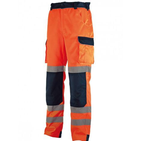 Pantalon Haute visibilité Orange/Bleu SINGER - T.XXXL - PILO06