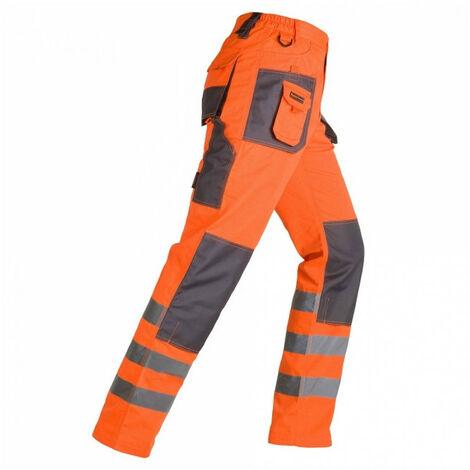 Pantalon Haute Visibilité SMART orange KAPRIOL - plusieurs modèles disponibles