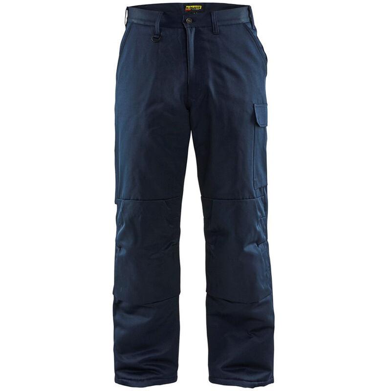 Pantalon de travail matelassé hiver Marine 50 - Blaklader