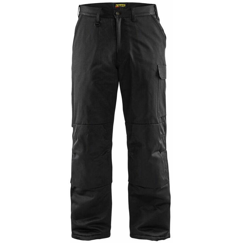 Pantalon de travail matelassé Blaklader hiver Noir 54