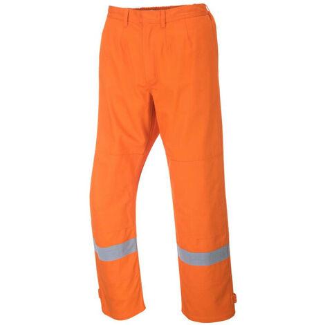 Pantalon ignifugé Portwest BIZFLAME PLUS Orange 3XL