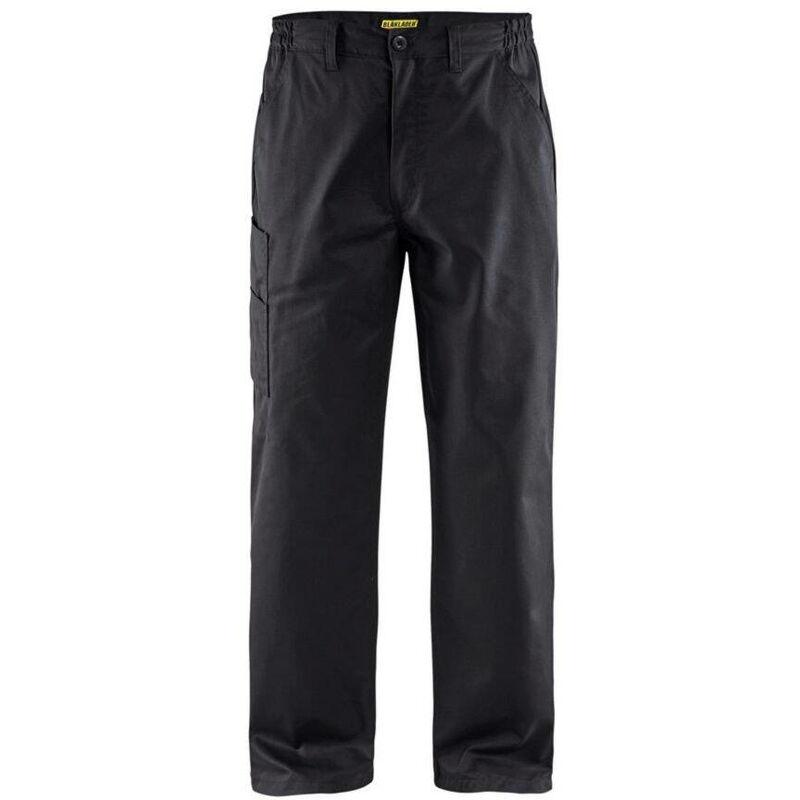 Pantalon de travail Blaklader industrie polycoton Noir 54