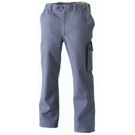 Pantalon industrie bleu/gris Millium MOLINEL - plusieurs modèles disponibles