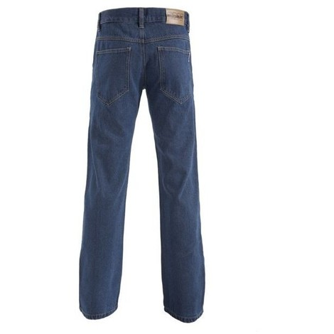 Pantalon jean 100 % denim dayton fermeture eclair 5 poches taille 54