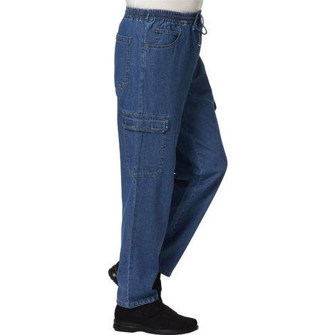 Pantalon jean cargo pour homme - taille 50 - taille L