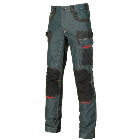 Pantalon jean Platinium button T38 U-power