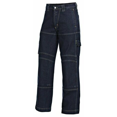 Pantalon jean worker epi strech bleu jean taille 58