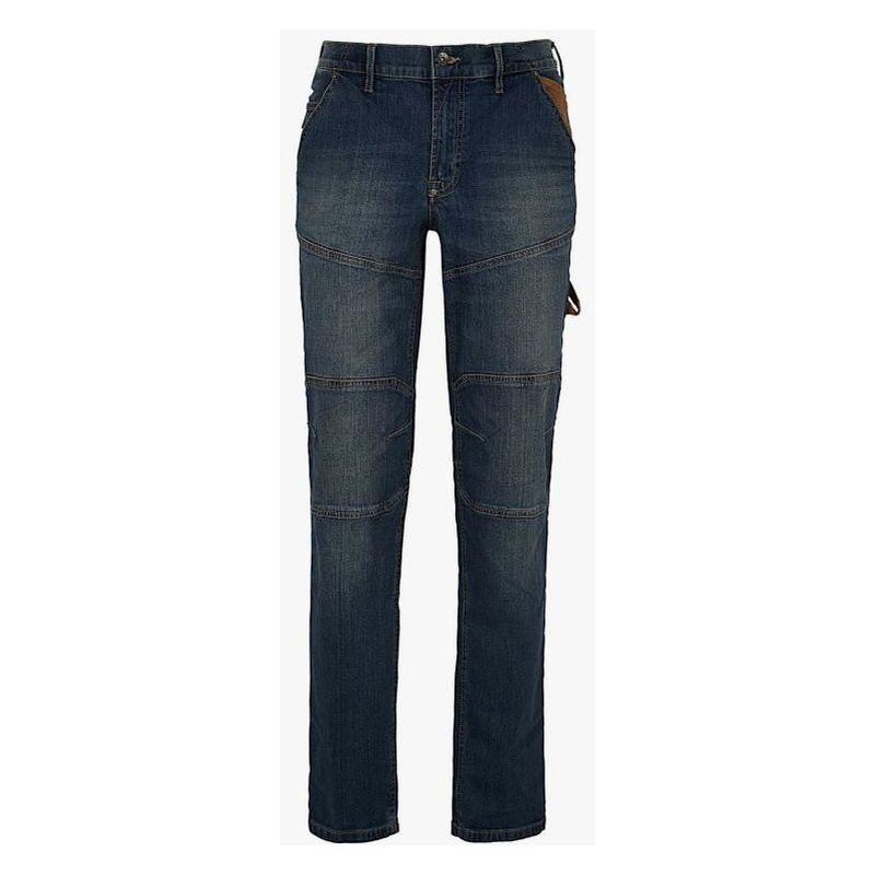 Diadora Utility - Pantalon jeans stone plus taille 30/40