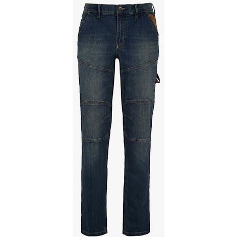 Pantalon jeans stone plus taille 34/44