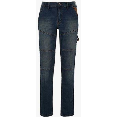 Pantalon jeans stone plus taille 38/48