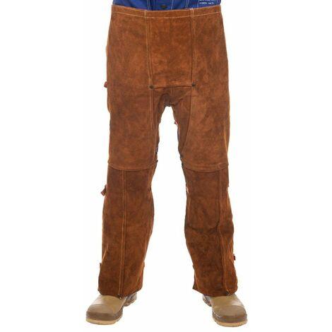 """Pantalón Lava Brown con dorso abierto Largo 102 cm (40"""")"""