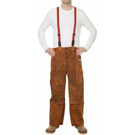 Pantalón Lava Brown con dorso cerrado