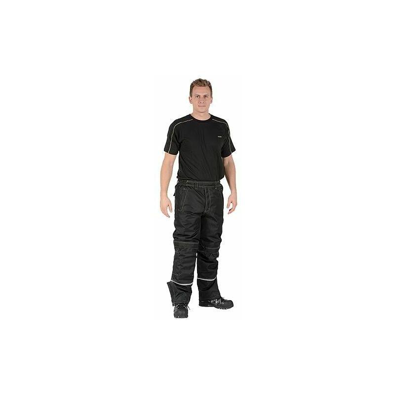Banyo - Pantalon Medusa Polaire noir Taille 58/60 (3XL)