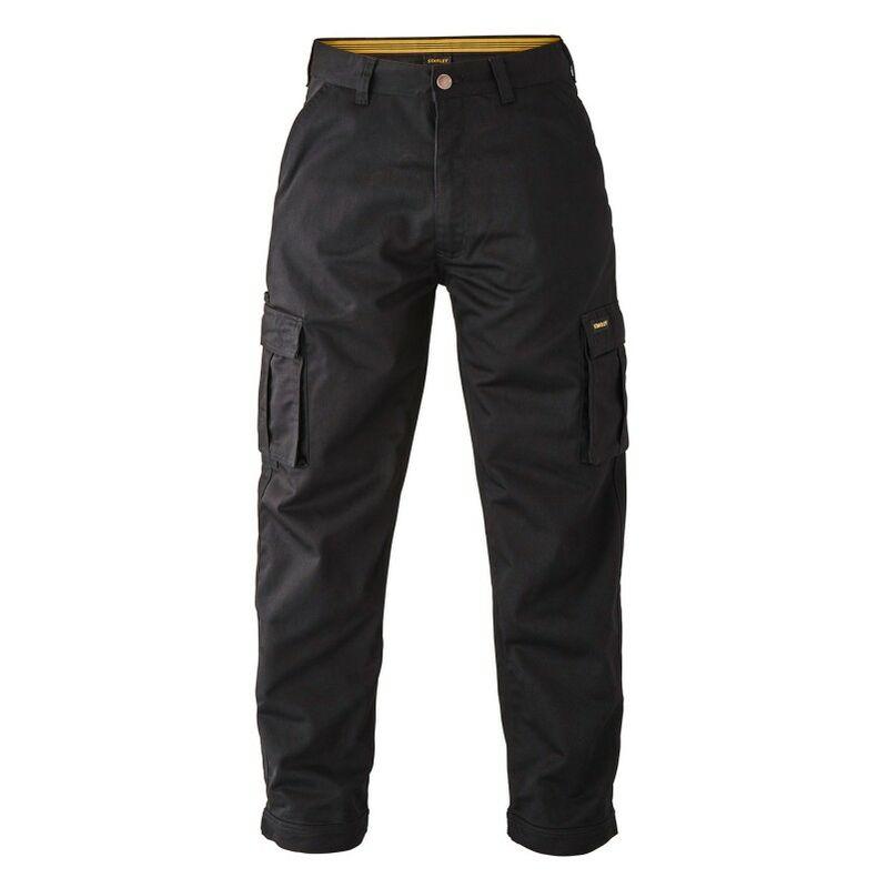 Pantalon Stanley regular Michigan 48 Noir - Noir