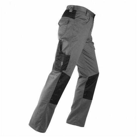 Pantalon multi-poches KAVIR gris-noir KAPRIOL - plusieurs modèles disponibles