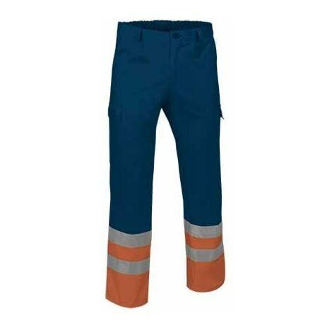 Pantalón multibolsillos de alta visibilidad - EN 20471 (ref. LINE)