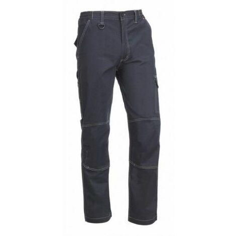 Pantalon Trabajo M 57%Algodon 40%Poliester Azul Marino Flex Light