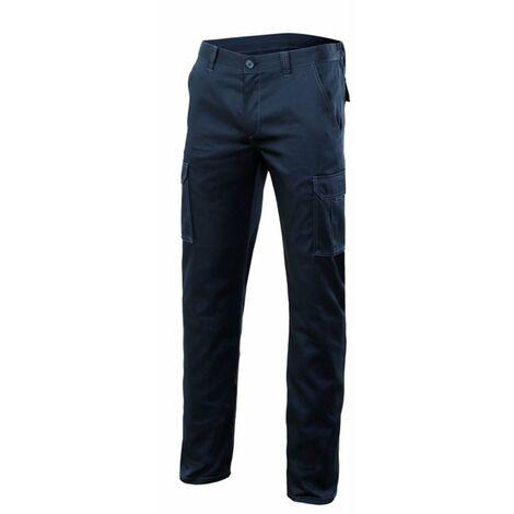 Pantalón multibolsillos stretch velilla - varias tallas disponibles