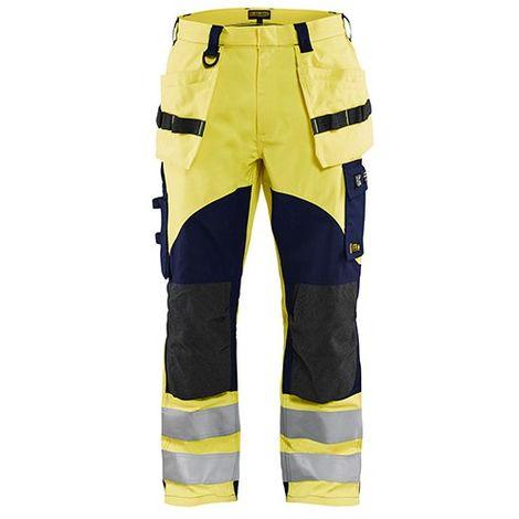 Pantalon multinormes inhérent - 3389 Jaune fluo/Marine 15891512 - Blaklader