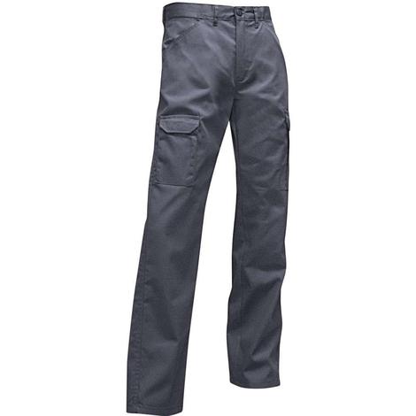 Pantalon multipoche à braguette zippée - DURITE - Gris