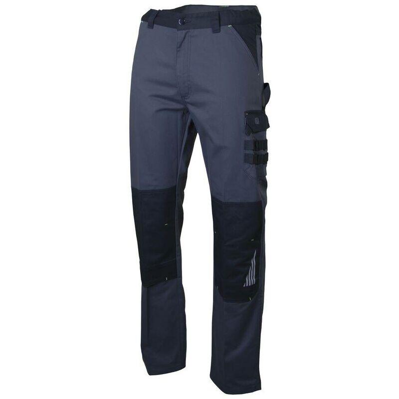 Pantalon de travail LMA |Zéro métal| SULFATE Gris Foncé / Noir 60