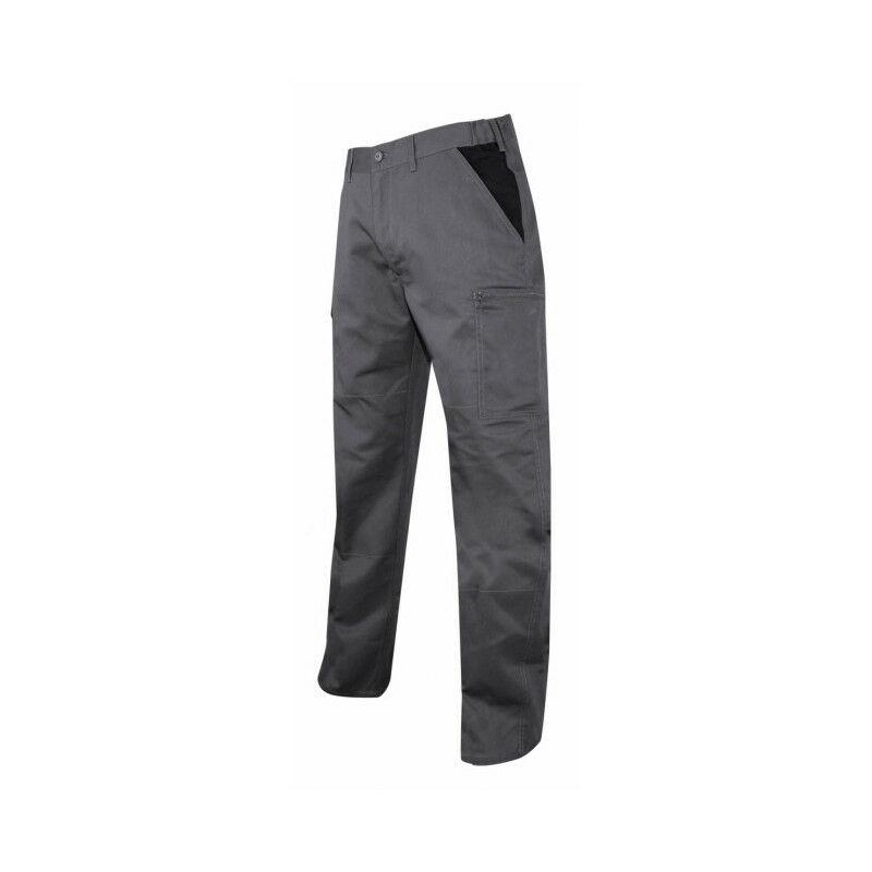 Pantalon multipoche gris/noir Perceuse LMA (54) - Taille pantalon : 54
