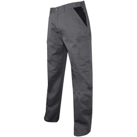Pantalon multipoches LMA Perceuse Gris / Noir 46