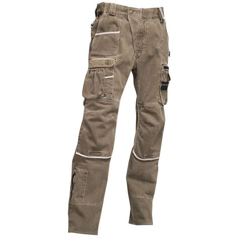 Pantalon multipoches Ardoise LMA Sable 38